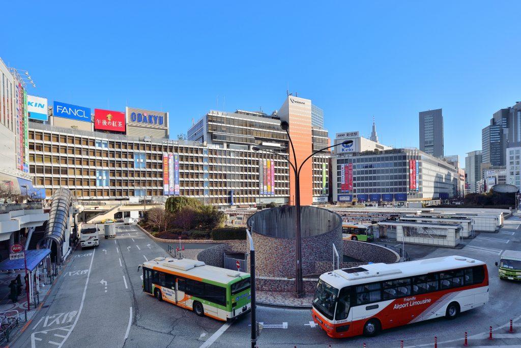 新宿駅_喫煙所