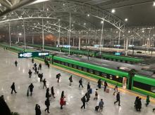 上海駅_ホーム
