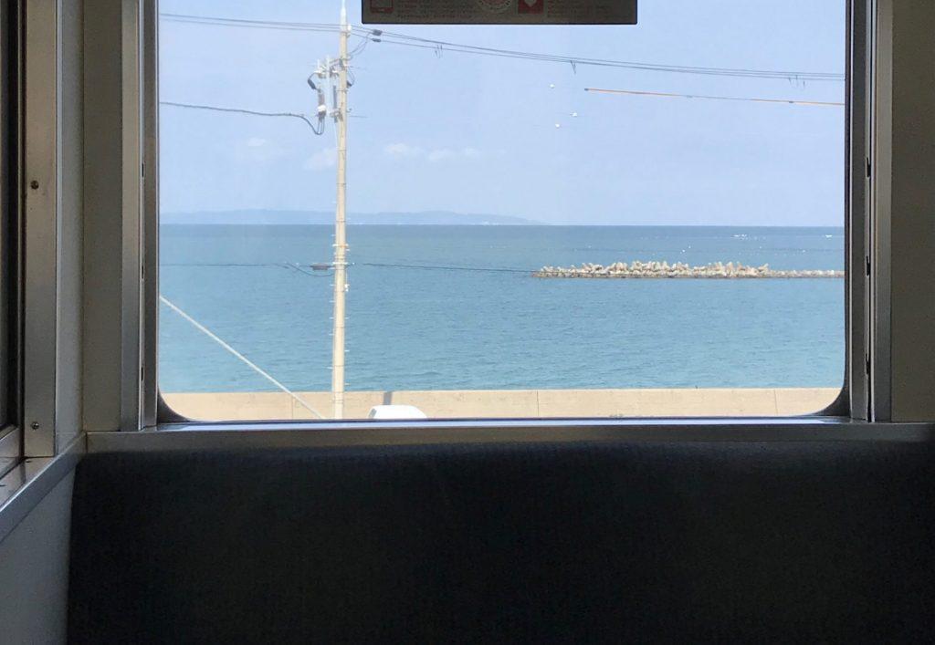 南海_車窓