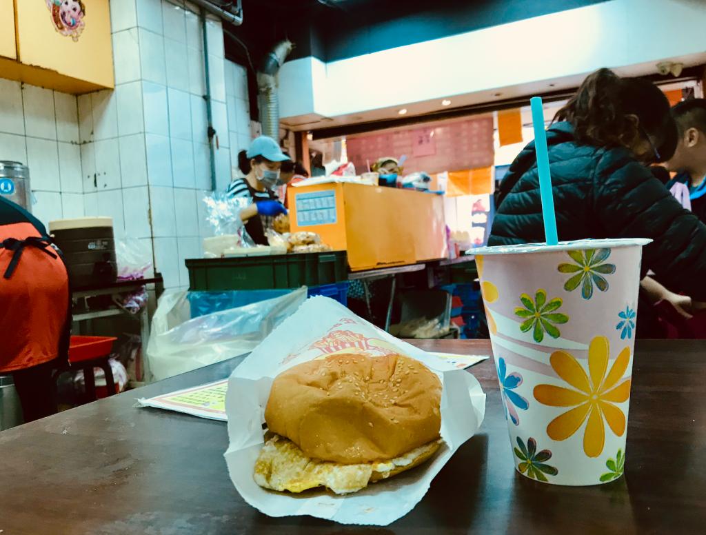 台北_ハンバーガー