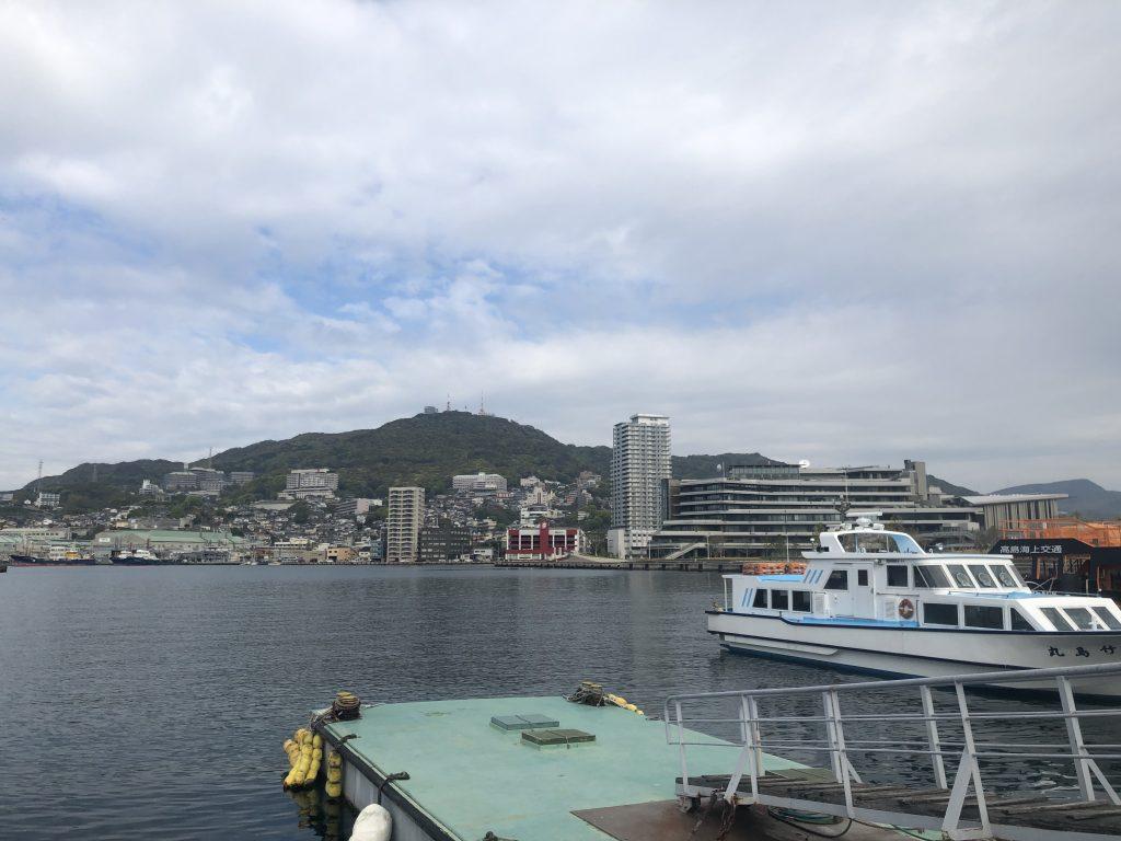 長崎港元船桟橋