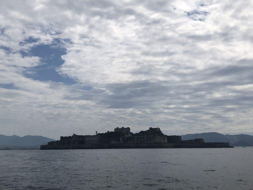 軍艦島ー全体像